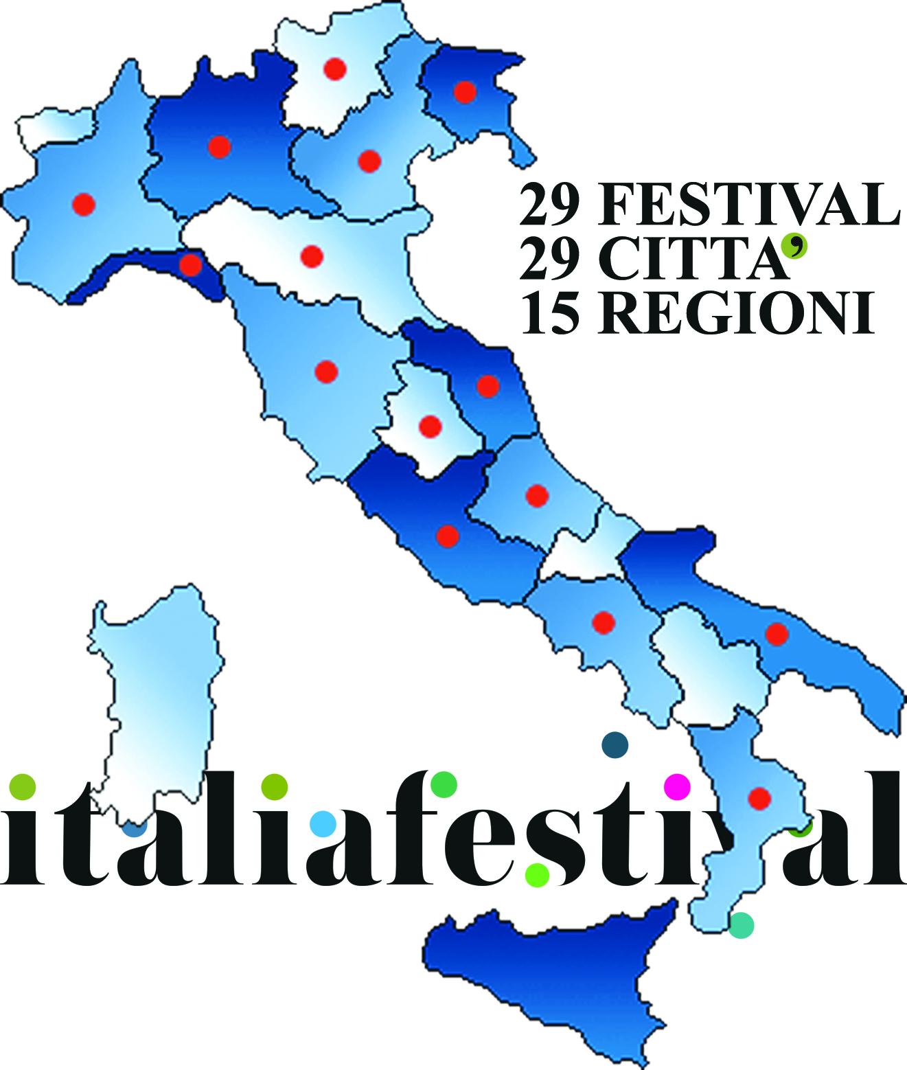 Distribuzione dei festival in Italia